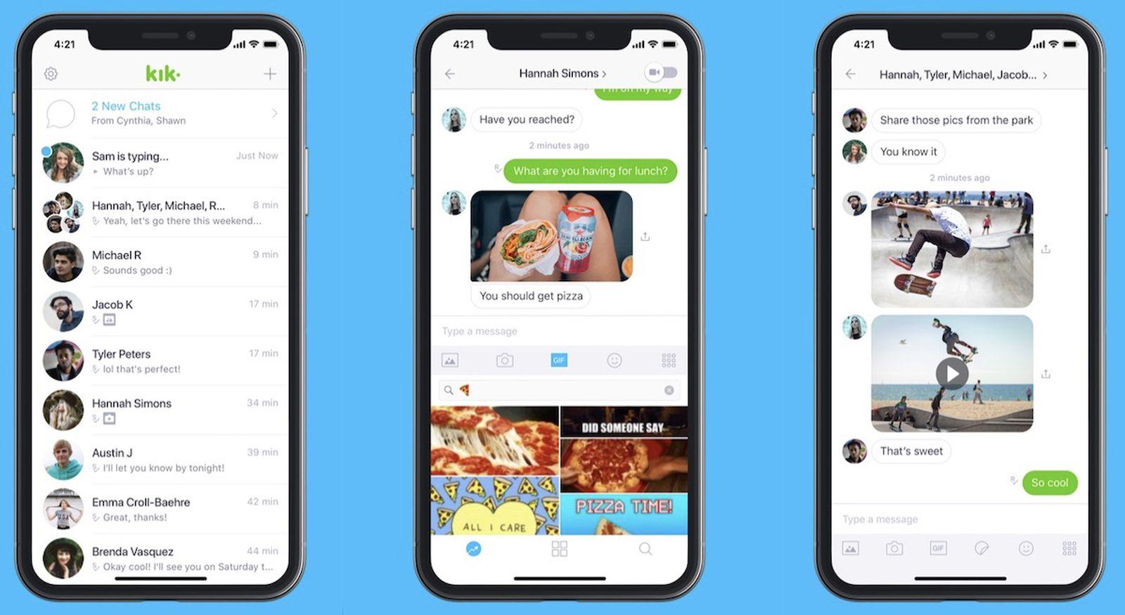 Chat alternative app