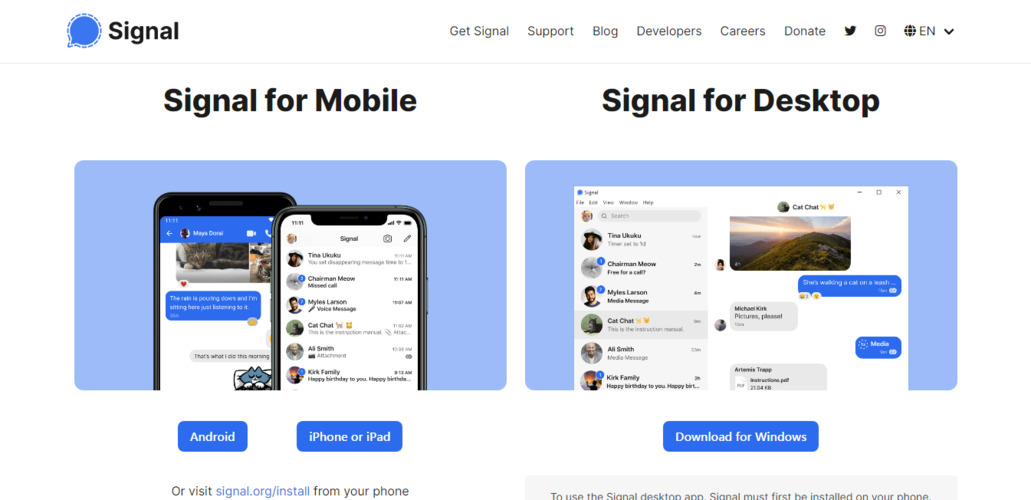 21 Free WhatsApp Alternatives: Best Chat Apps - Startup Stash