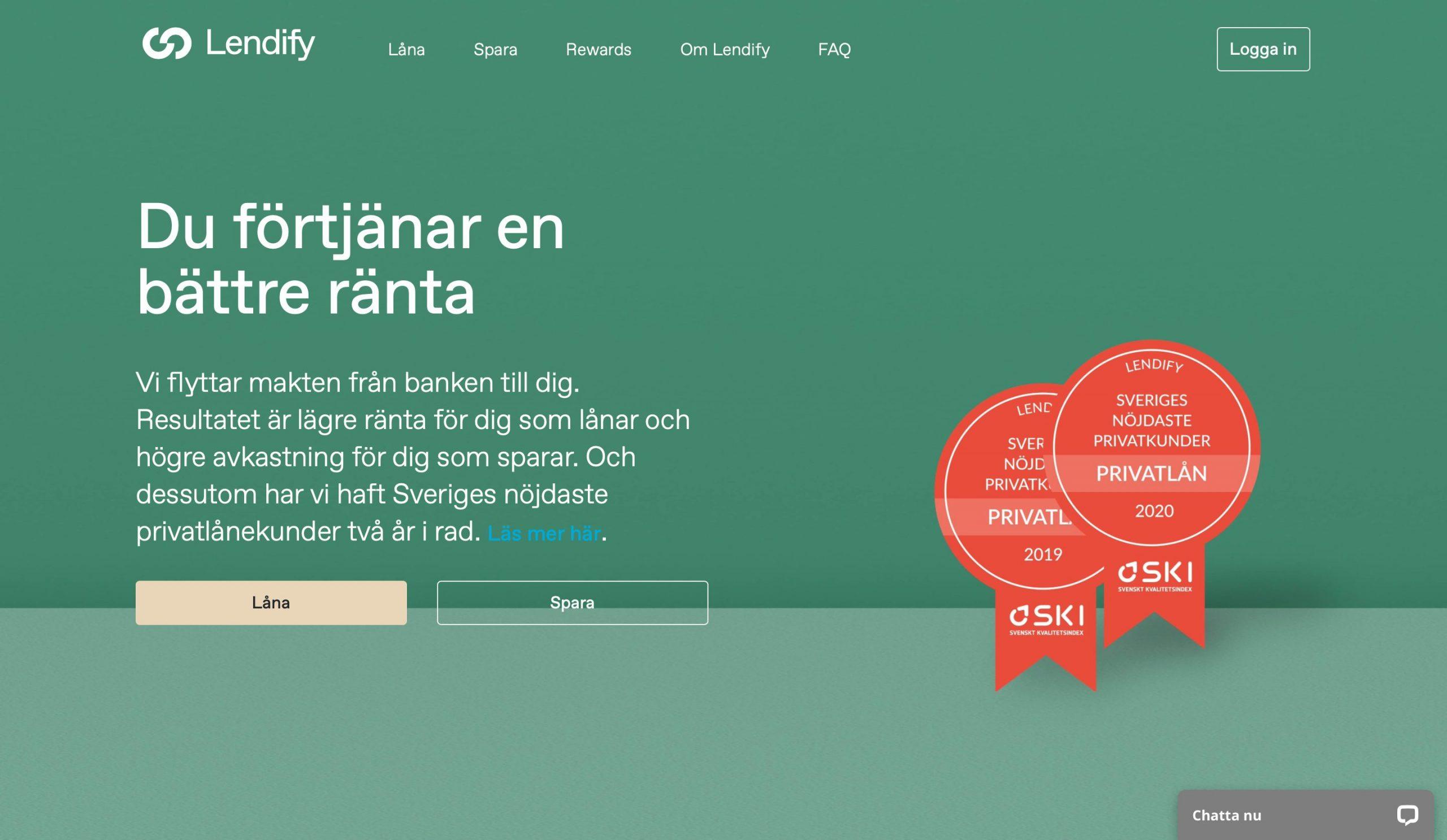 Lendify Website